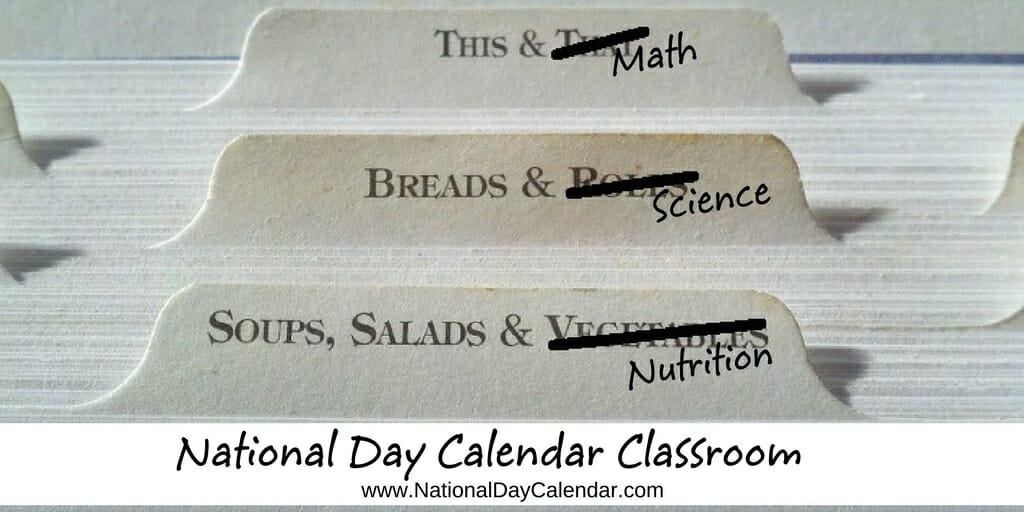 National Day Calendar Classroom - Assignment