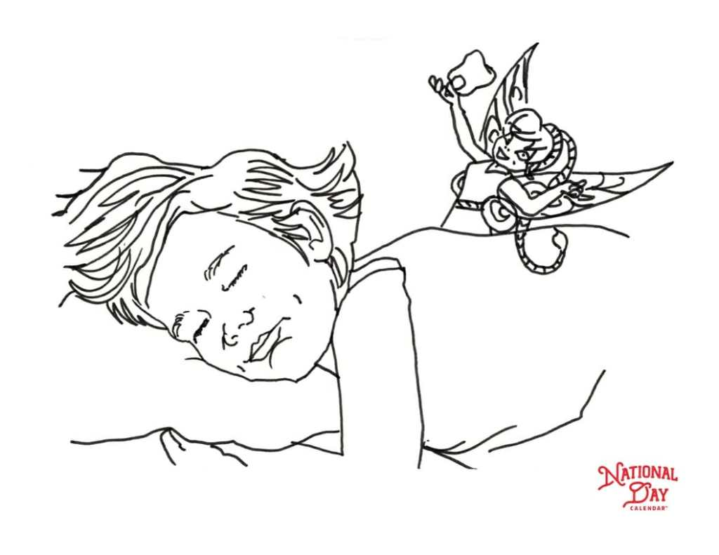 save - Fairy Coloring Page