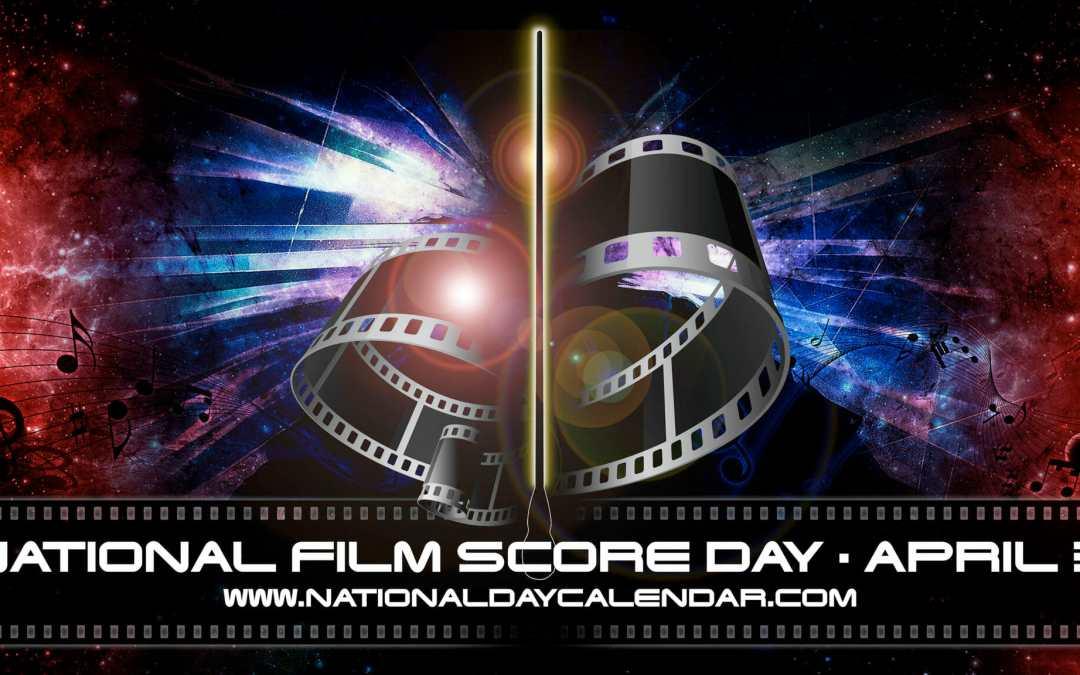MEDIA ALERT | NEW DAY PROCLAMATION | NATIONAL FILM SCORE DAY – April 3