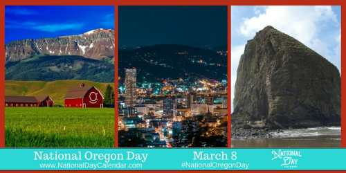 National Oregon Day - March 8