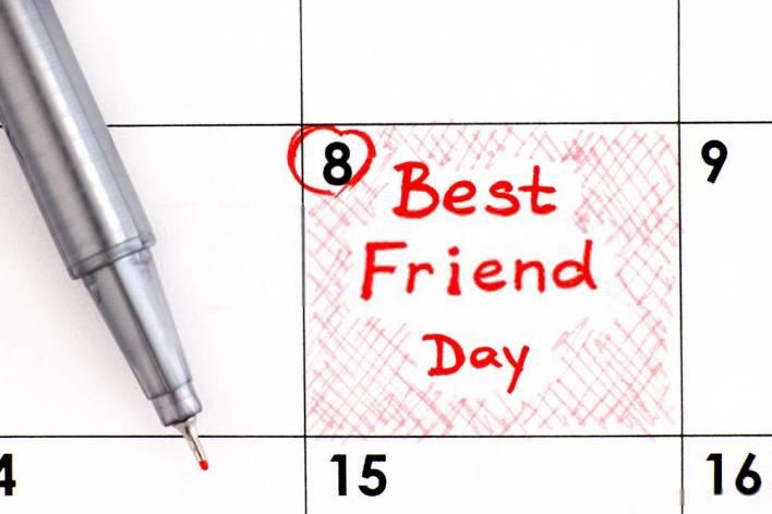 National Best Friend Day Date