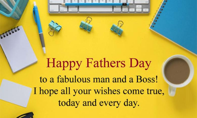 Happy Fathers Day to my Boss