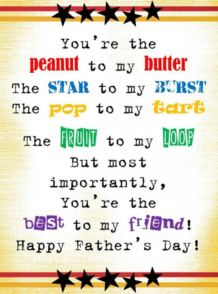 Poems On Fathers Day