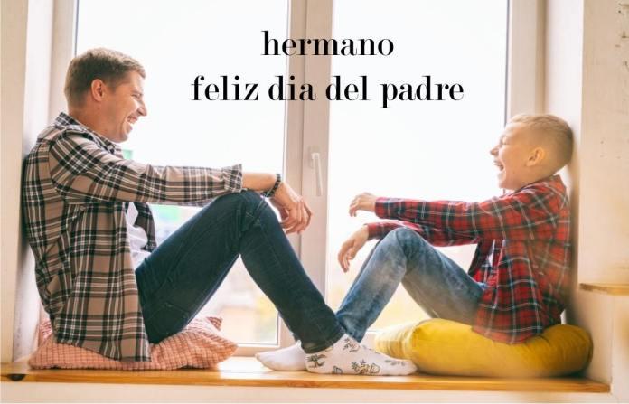 feliz dia del padre hermano