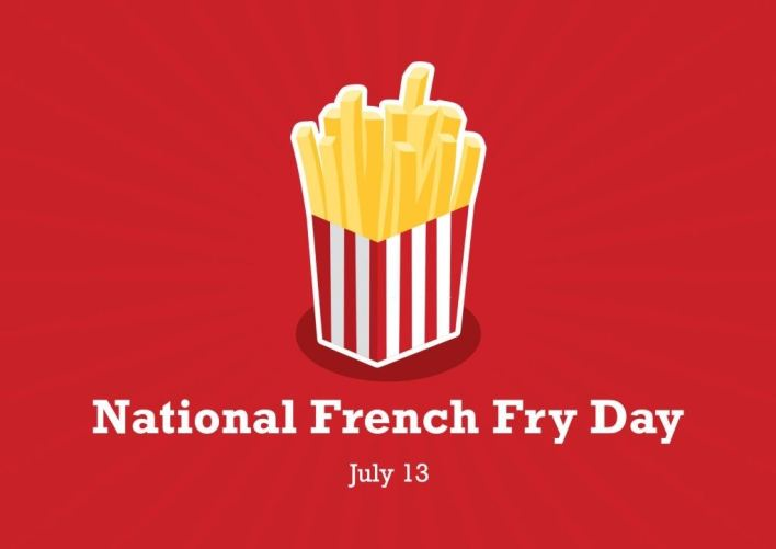 French Fry Day Date