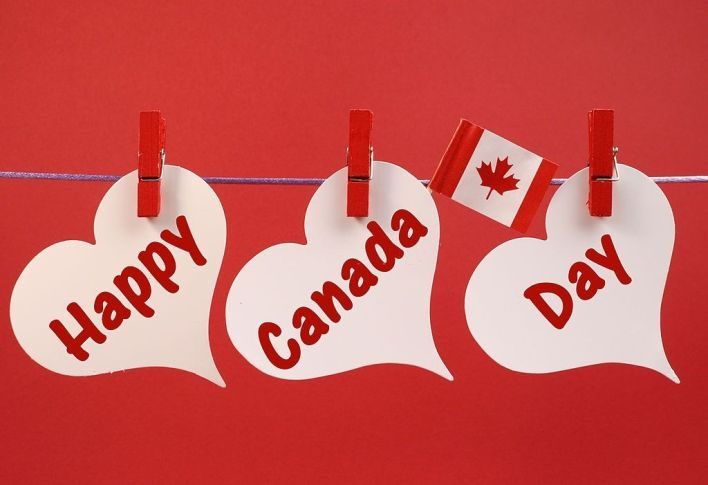 Happy Canada Day message
