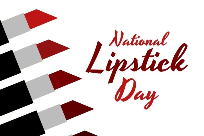 Happy Lipstick Day Images