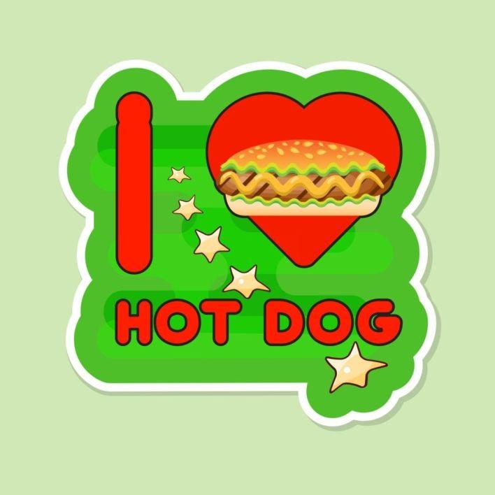 I love Hot Dog