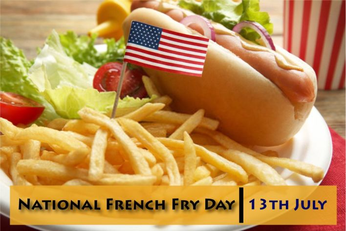 National French Fry Day Images