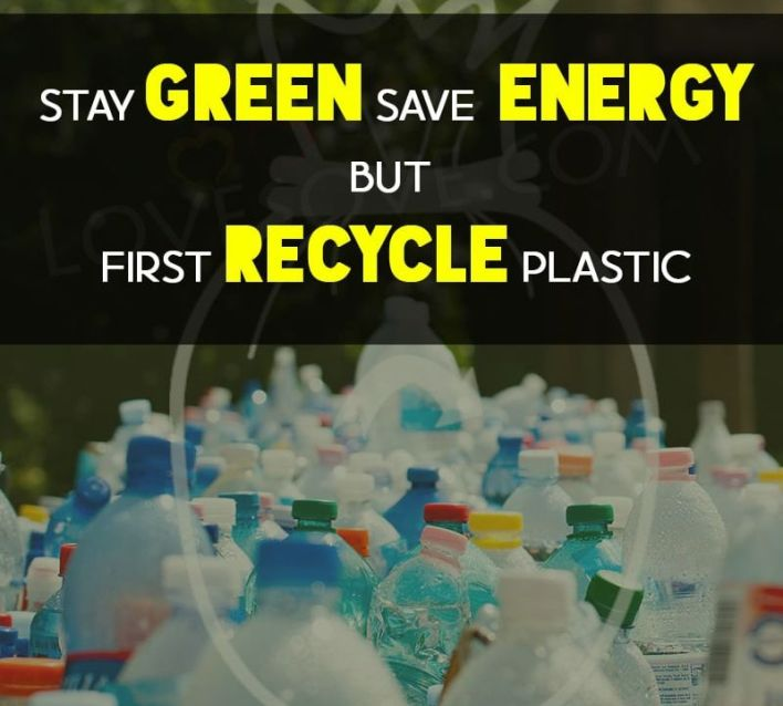 Stay green save energy
