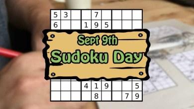 International Sudoku Day CoverPhoto