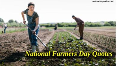 National Farmers Day Quotes