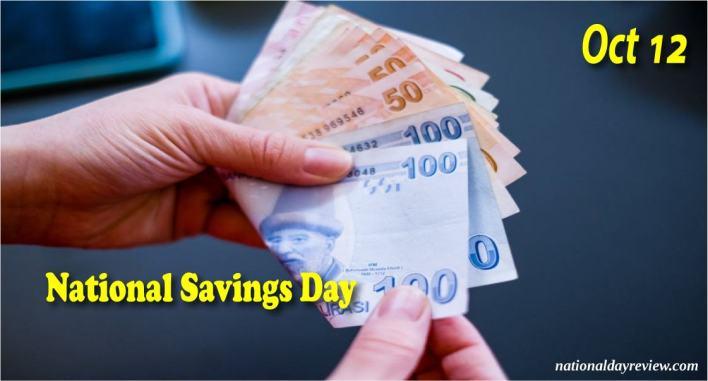 National Savings Day Date