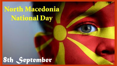 North Macedonia National Day
