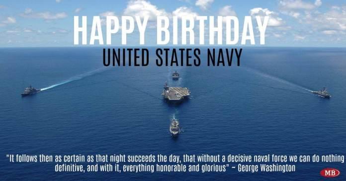 USA Navy Birthday