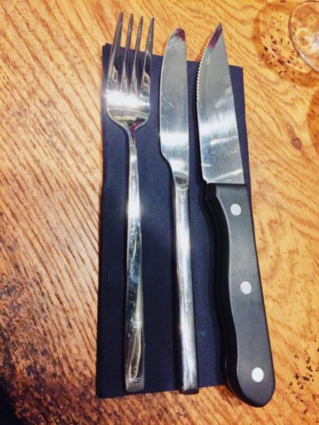 Now that's a steak knife Orford Flat Iron Norwich