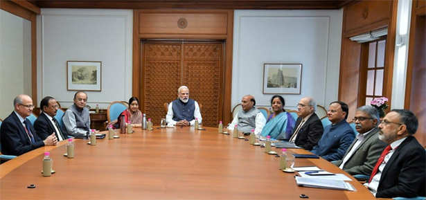 pm narendra modi in meeting