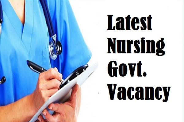 govt nursing job