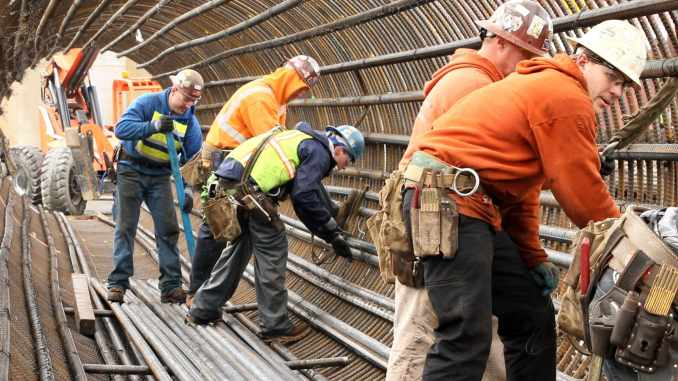 shortage of illegal labor caused construction worker wages to rise