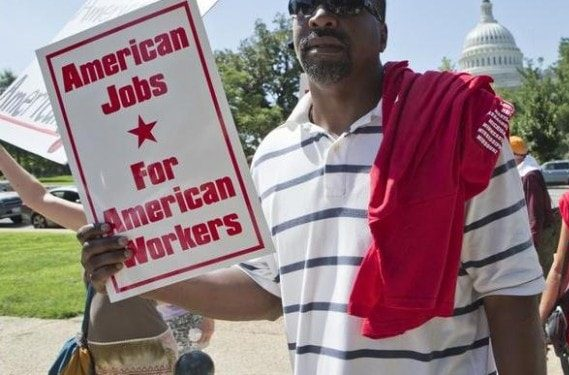 black americans are the racial group most opposed to mass immigration