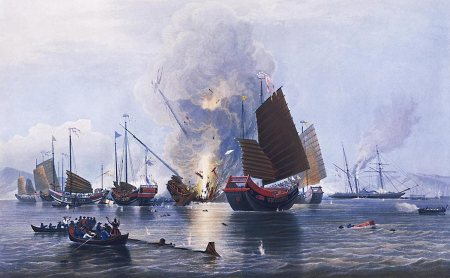opium wars & end of the Canton System