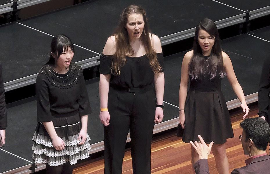 Australian National Eisteddfod - Choirs 2018. Section CH010 - ANU Chamber Choir