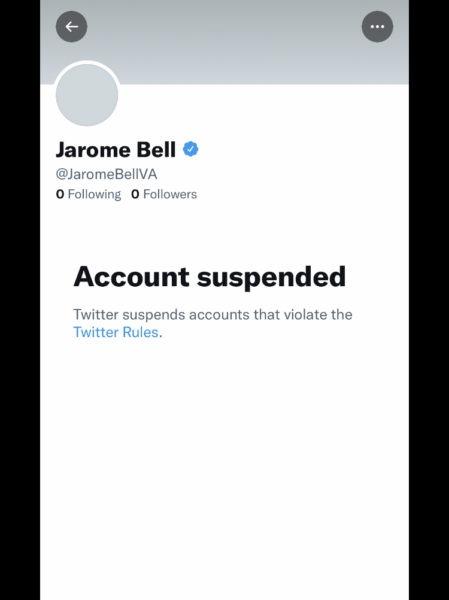 Jarome Bell Twitter