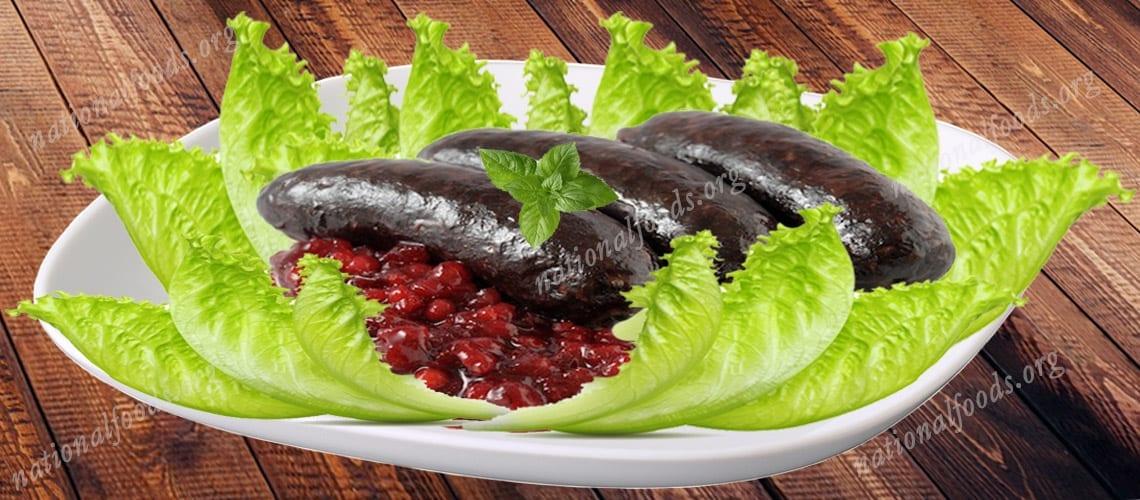 National Dish of Estonia – Verivorst with Mulgikapsad
