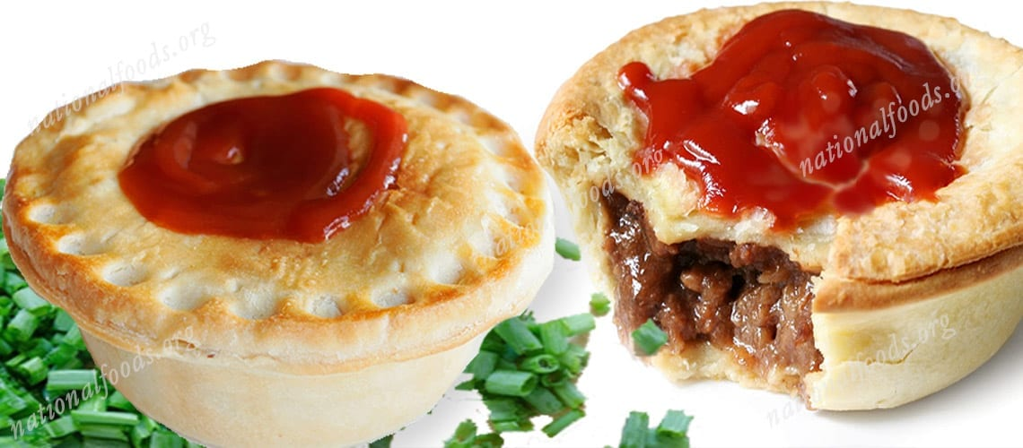 National Dish Of Australia Meat Pie National Dishes Of The World