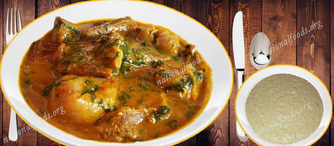 National Dish of Niger Djerma Stew