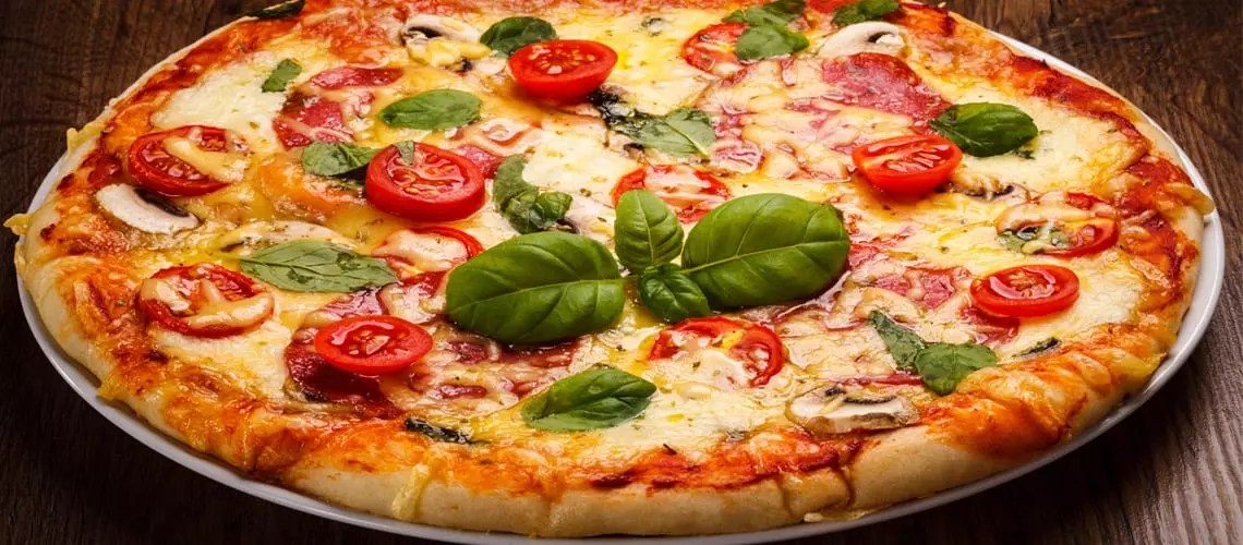 National Dish of Italy Pizza
