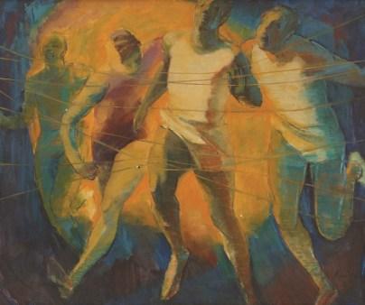 Barrington Watson - Athlete's Nightmare II (1966), Collection: NGJ