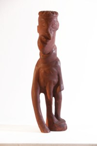 "William ""Woody"" Joseph - Untitled (Standing Figure), (1996), Wayne and Myrene Cox Collection."