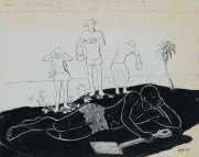 Albert Huie - The Island (1973), Collection: NGJ