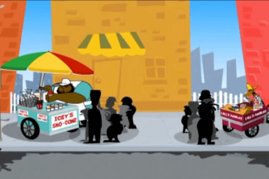 Ansar Sattar (Trinidad and Tobago) - Vendor Rivalry (2009, animation still)