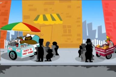 Ansar Sattar (Trinidad and Tobago) - Vendor Rivalry (2009, animation still)