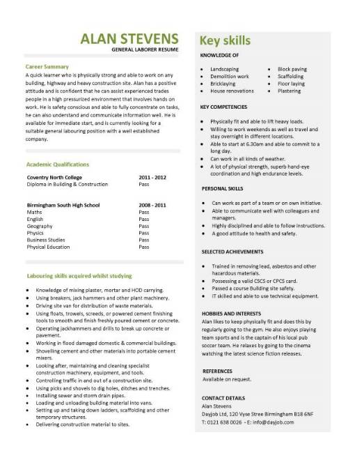 Capability Statement Template Template Business