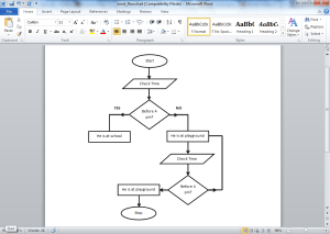 Flow Chart Template Word | Template Business
