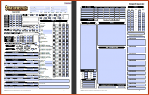 picture regarding Pathfinder Character Sheets Printable named pathfinder individuality sheet printable - Kadil