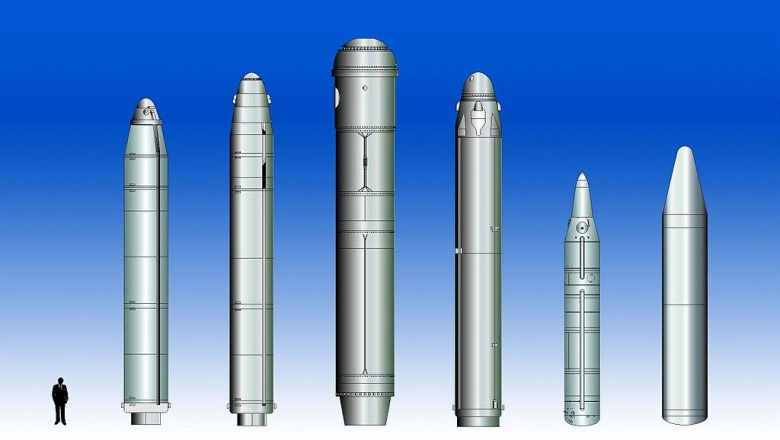 Comparison of submarine-launched ballistic missiles. Wikimedia Commons/Public domain