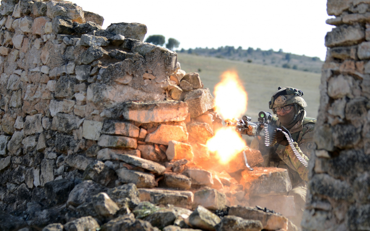 U.S. Army soldier during Exercise Sky Soldier 16. Flickr/U.S. Army
