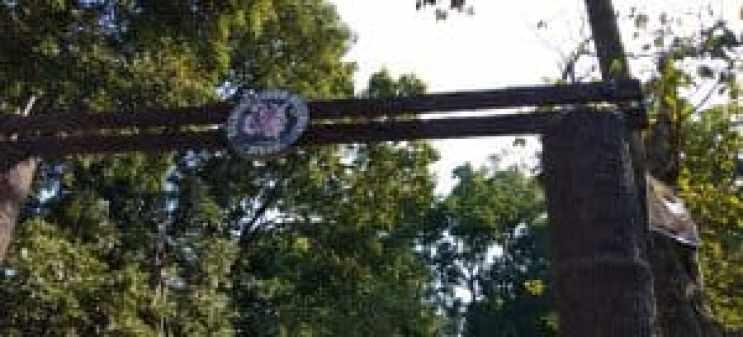 Valmiki Tiger Reserve Entrance Gate
