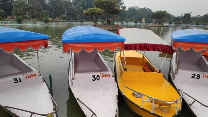 boating in eco park rajdhani vatiaka patna