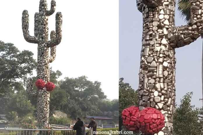cactus smriti in eco park patna