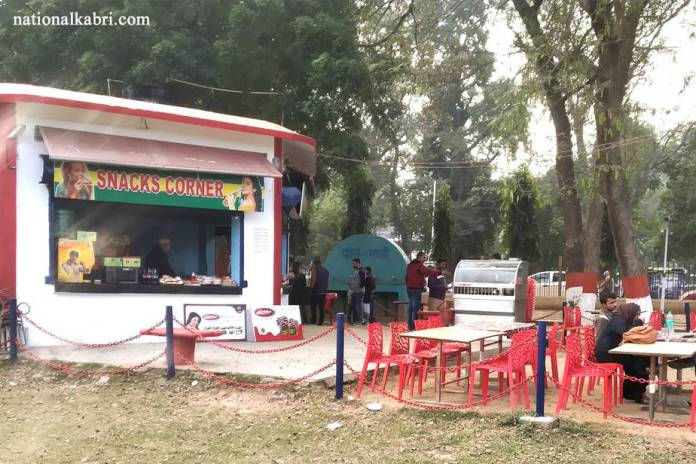 cafeteria in राजधानी वाटिका पटना