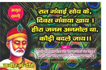 Sant Kabir Das ji ke prasiddh dohe