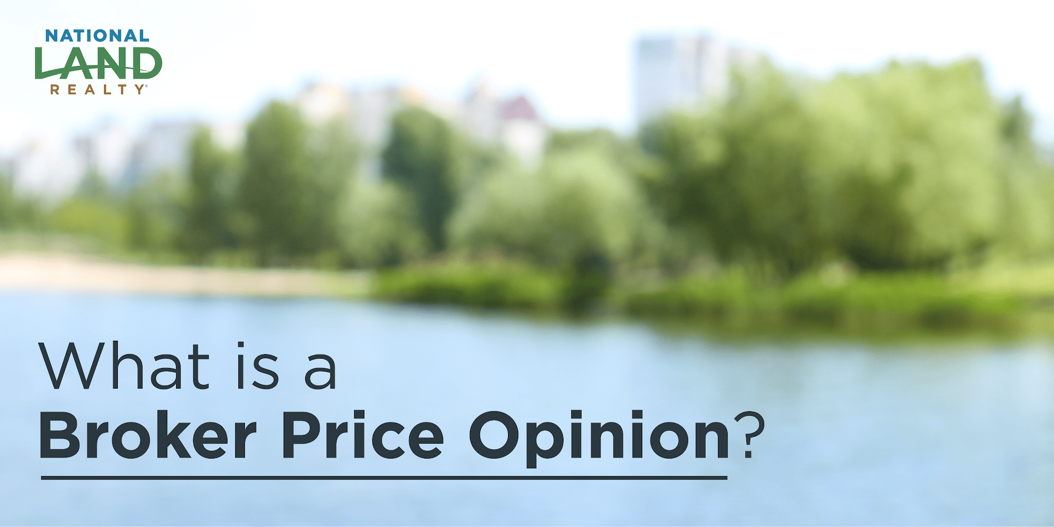 What is a Broker Price Opinion?