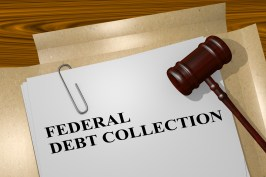 Federal Debt Collection concept
