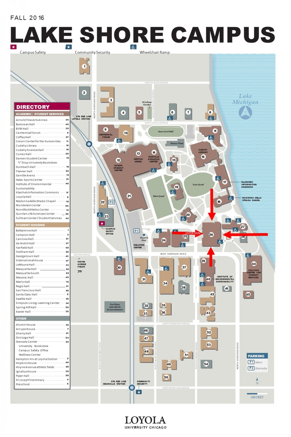 New Orleans Loyola University Campus Map Www Topsimages Com