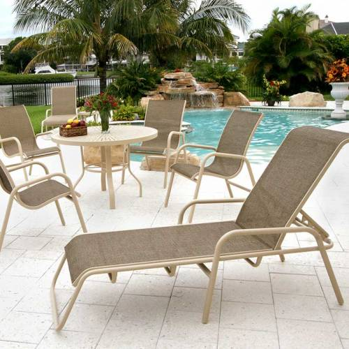 commercial patio sling furniture